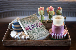love aromatherapy candle