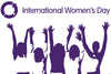 We are supporting Internal Women's Day