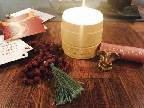 Scentered aromatherapy candle
