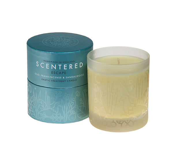 Essential oil Camomile, Mandarin and Neroli candle for enhancing mood