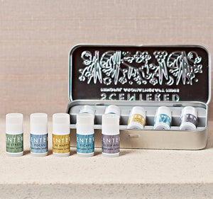Scentered Aromatherapy Mindful Minis Balms Gift Set - Set of 5 Essential Oil Therapy Balm Sticks