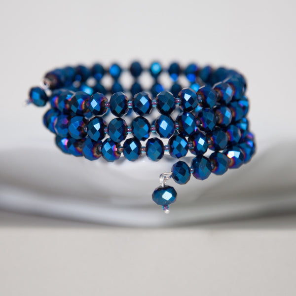 Crystal wrap bracelets (ideal gift) -click to view collection