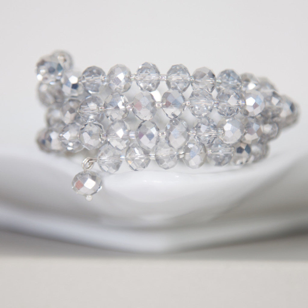 Bridesmaids crystal wrap bracelets (ideal gift) -click to view collection