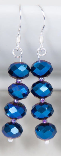 Crystal earrings -click to view collection