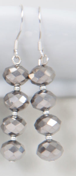 Bridesmaids crystal earrings -click to view collection