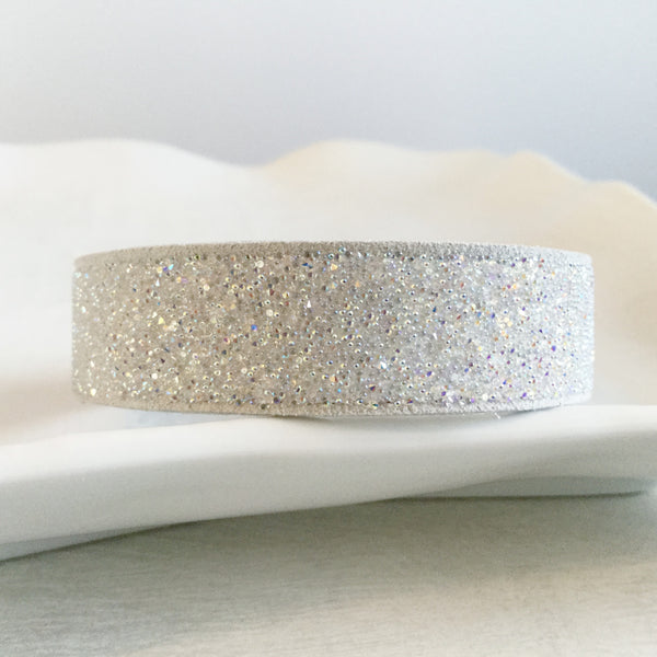 Swarovski elements crystal suede bracelets