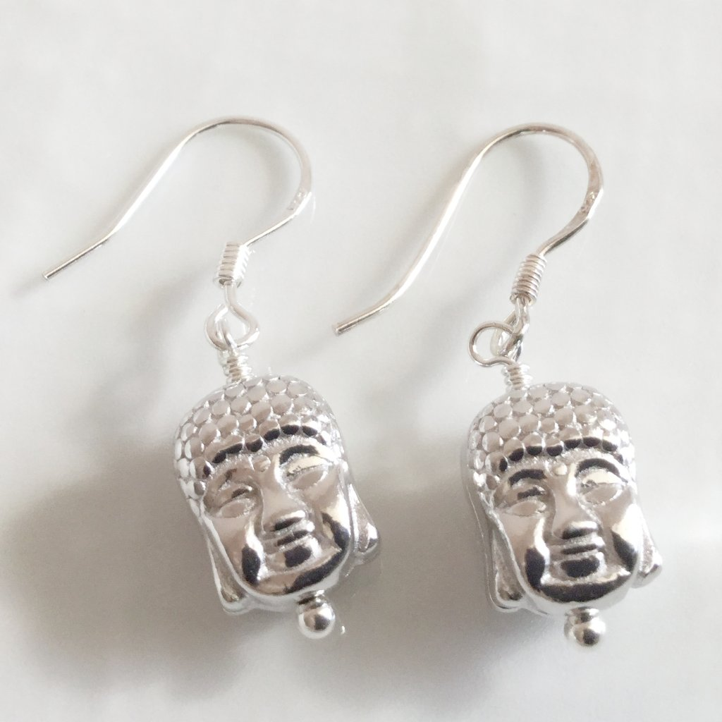 Buddha earrings