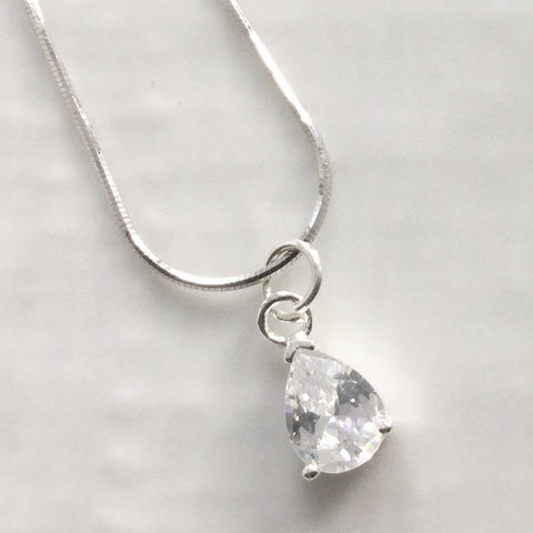 Cubic zirconia pendants - click to view