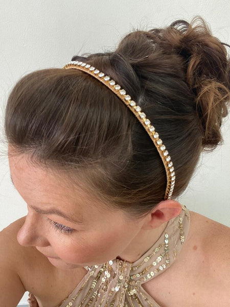 Swarovski crystal hair jewellery