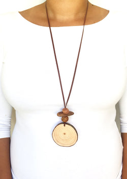 Timber Slice Necklace