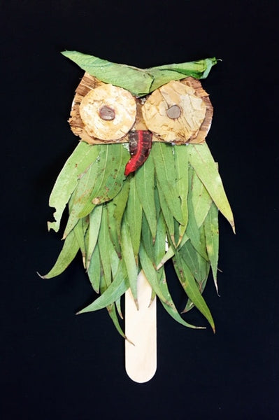 Botanical Owl Craft