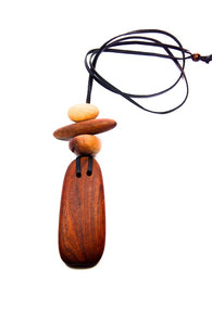 Natural Wooden Necklace