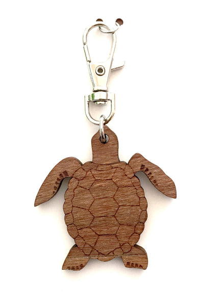 Caretta Caretta Keyring/Bag Charm - Queensland Maple & Ironbark