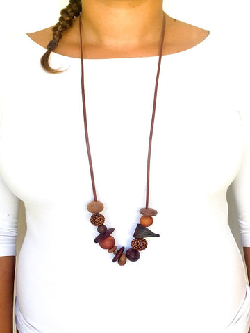 Organic Bead Necklace