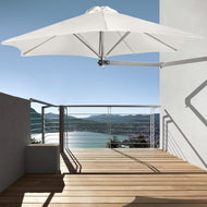 Paraflex Wallmounted Umbrella 2.7m Hexagonal