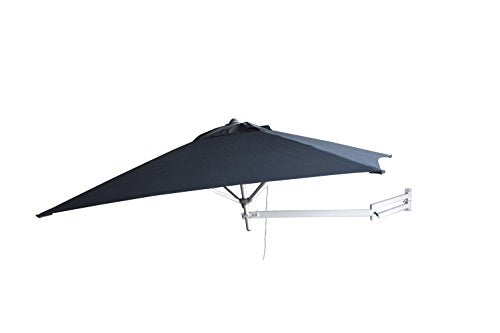 Easysoll 2m Square Wall Mounted Umbrella