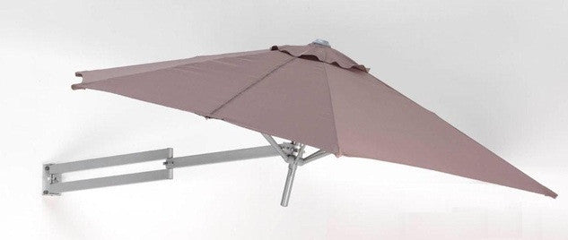 Easysoll Wall Mounted Umbrella 2.5m Hexagonal