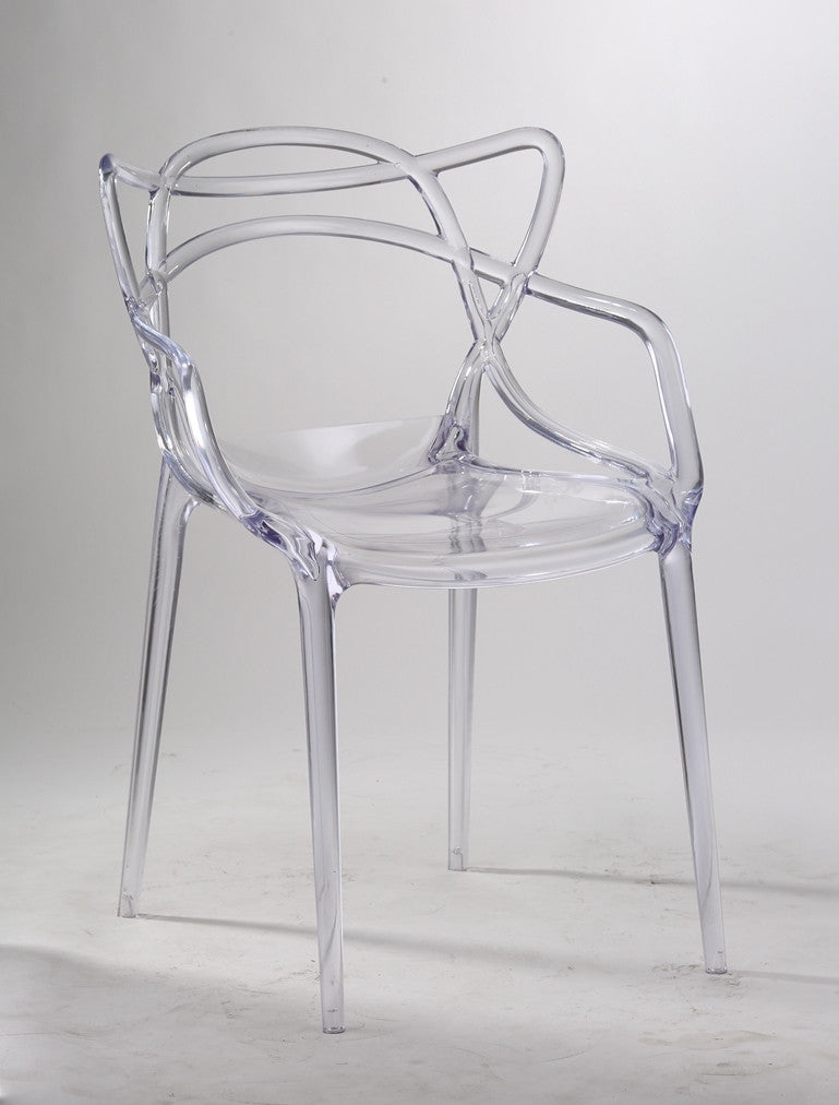 Replica Phillipe Starck - Master Chair In Clear