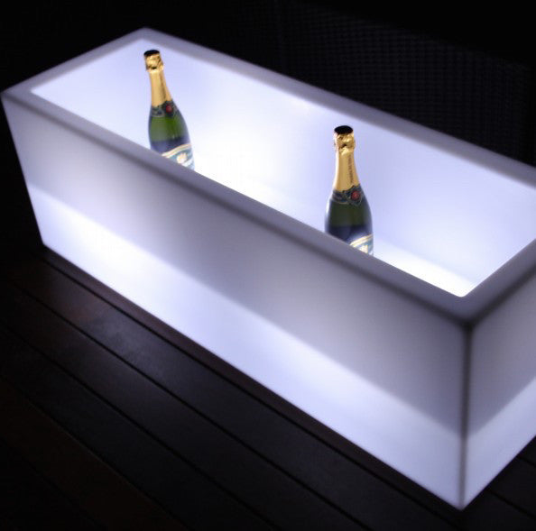 Led Ice Bucket Rectangular 120x40x40cm