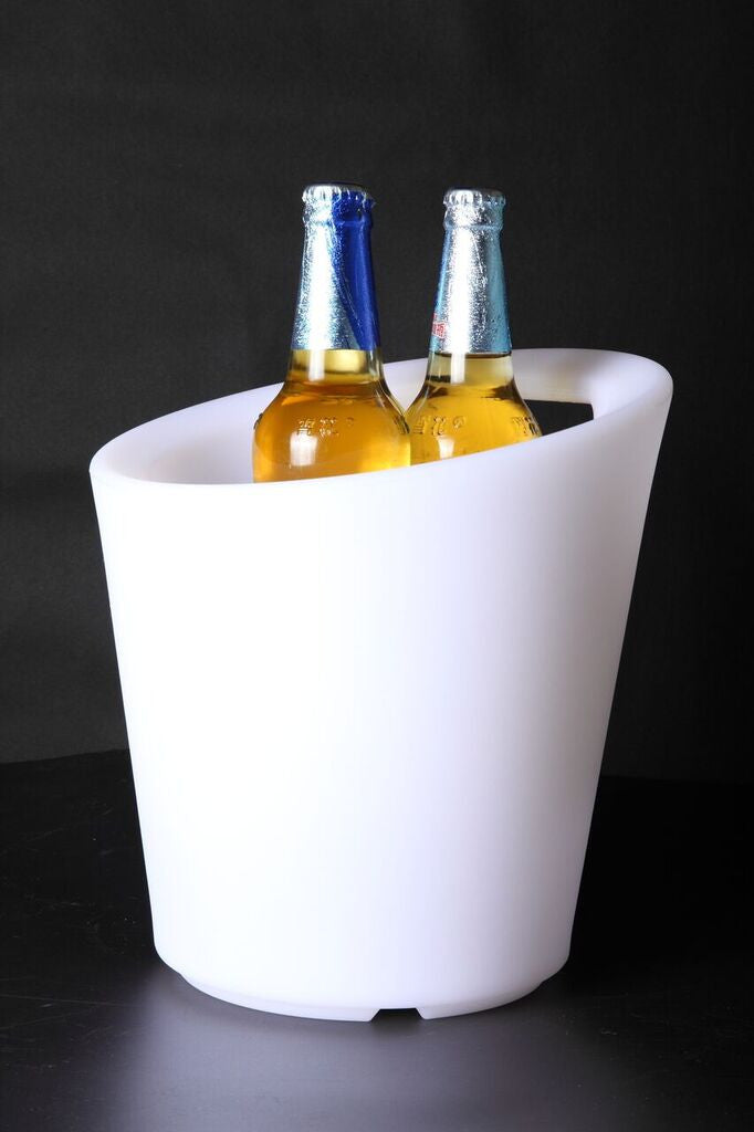 Led Ice Bucket  with cut out handle