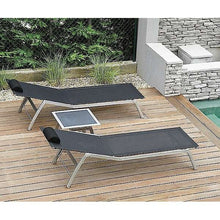 TODUS  Stainless Steel Lounger