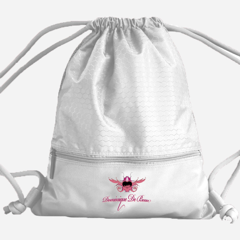 MISS DE BEAU WOMEN'S WATERPROOF DRAWSTRING BAG