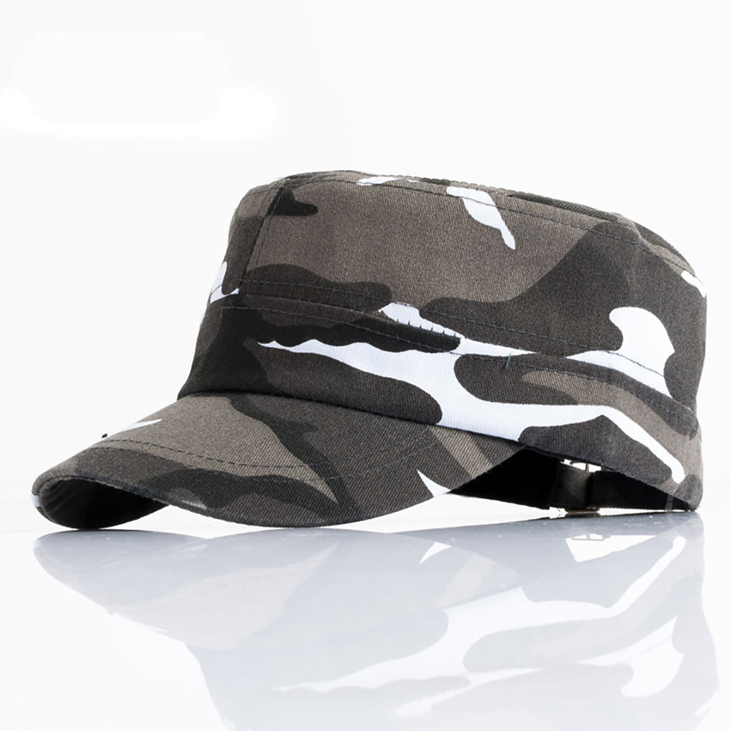 MISS DE BEAU CLASSIC ARMY SERVICE CAMOUFLAGE SNAPBACK FLAT HAT