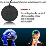 Anti Radiation Shield EMF Protection Negative Ion Balance Energy Necklace Orgone Pendant