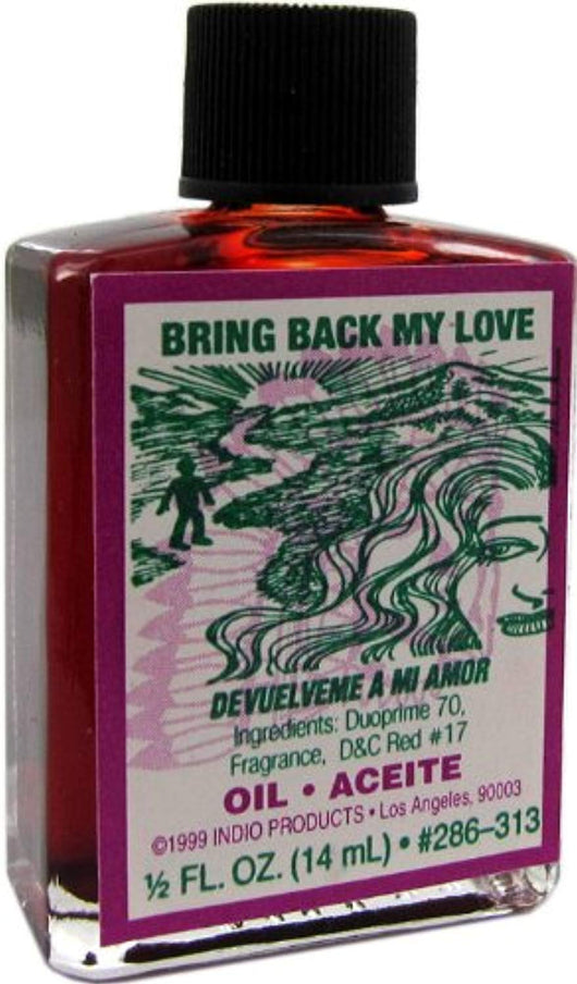 Indio Products Bring Back Love Oil 1/2 fl. oz.