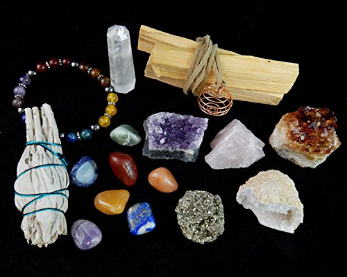 CRYSTAL HEALING and Sage Blessing kit
