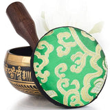 Silent Mind Tibetan Singing Bowl Set Balance & Harmony Design