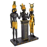 Design Toscano Osiris, Isis and Horus Egyptian Gods Statue
