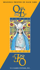 Quick & Easy Tarot with meaning printed on card