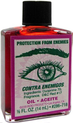 Indio Products Protection From Enemies Oil 1/2 fl. oz.
