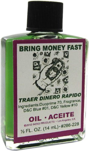Indio Products Bring Money Fast Oil 1/2 fl. oz.