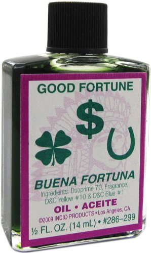 Indio Products Good Fortune Oil 1/2 fl. oz.