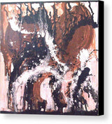 Large Unique Original Inspirational Abstract Contempory Painting called Birth..ArtebyEsther