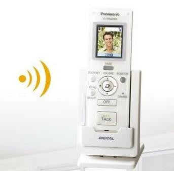 panasonic extra wireless handset monitor
