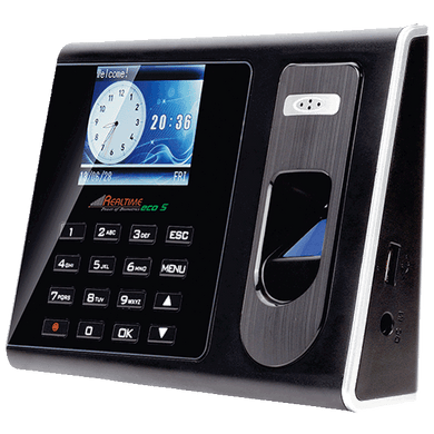 Realtime C110t ECO SERIES Color Display Attendance System With TCP/IP - Security System Store
