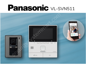 Panasonic VL- SVN511SX Video Intercom System with WiFi Smart Phone Connect
