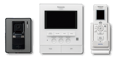 Panasonic Video Intercom System Wireless VL-SW251SX