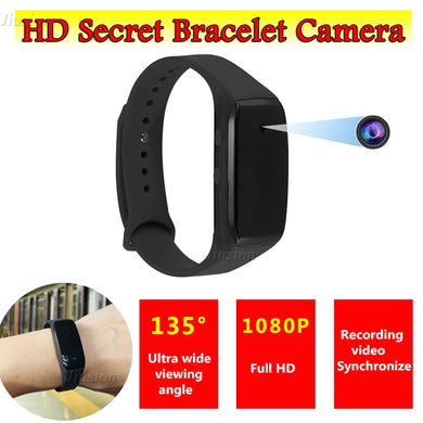 Mini Secret Invisible Watch Camera with Audio Recorder 135 Degree Wide Angle
