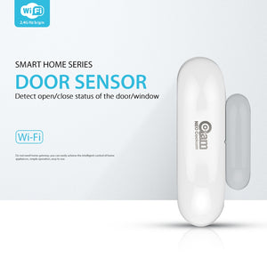 WiFi Intruder Alarm System Door Window Sensor,App Notification Alerts