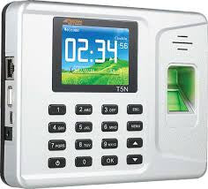 Realtime T5N Biometric Fingerprint Based Time Attendance Machine (With Battery Back-Up)