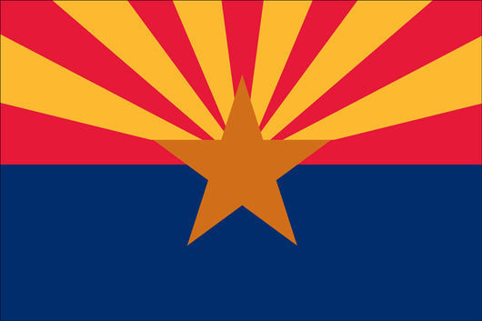 Arizona State Nylon Flags