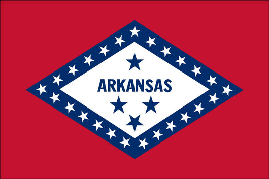 Arkansas State Nylon Flags