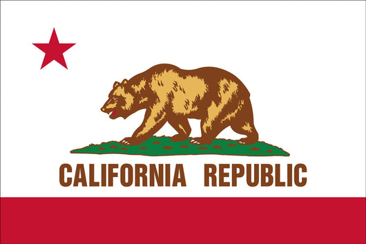California State Nylon Flags