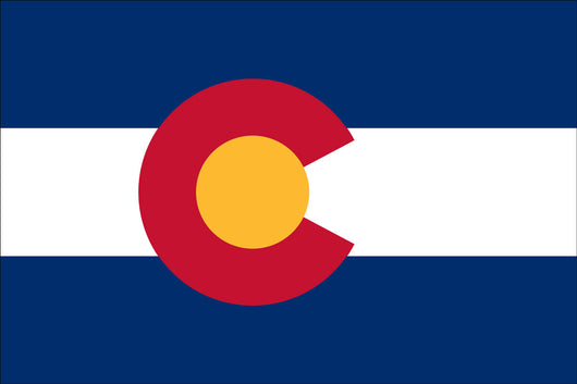 Colorado State Nylon Flags