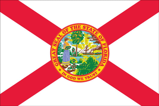 Florida State Nylon Flags