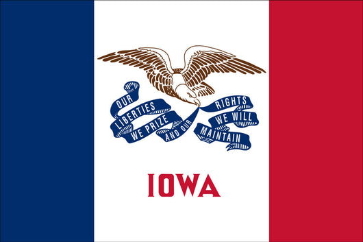 Iowa State Nylon Flags